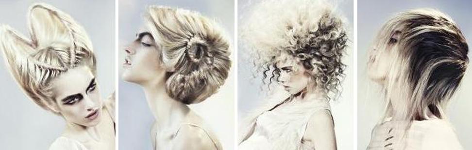 Blonda frisyrer