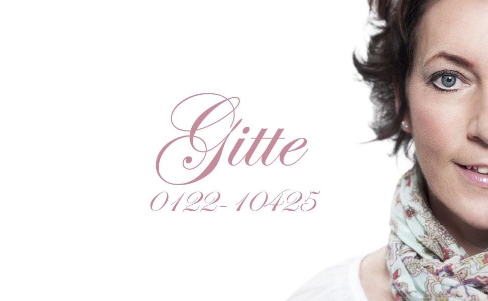 Gitte – Din Frisör i Finspång