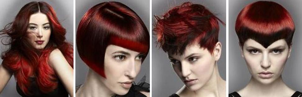 Röda frisyrer